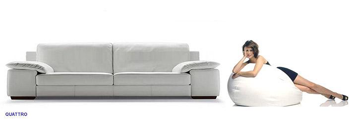 Canap classique confort quattro for Canape quattro