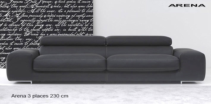 canap contemporain actuel arena. Black Bedroom Furniture Sets. Home Design Ideas