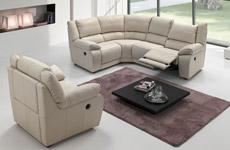 Canapé et fauteuil relax Casanova