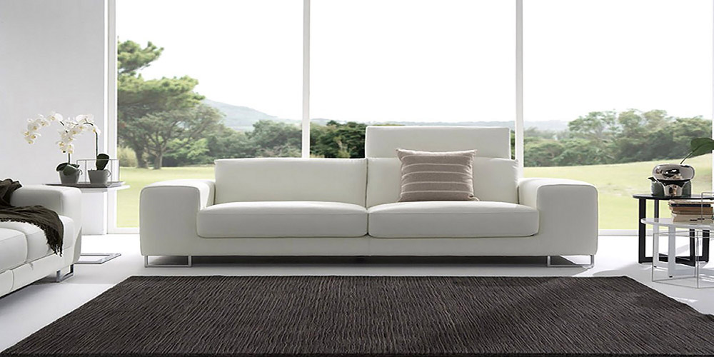 canap contemporain en cuir musica. Black Bedroom Furniture Sets. Home Design Ideas
