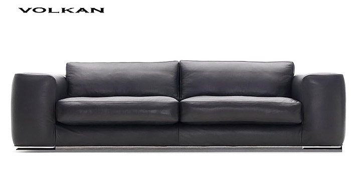 Canap contemporain volkan for Canape cuir contemporain